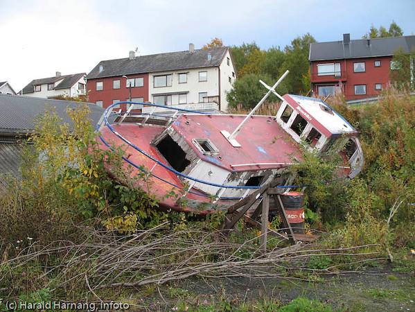 Vassvik, ved båthavna