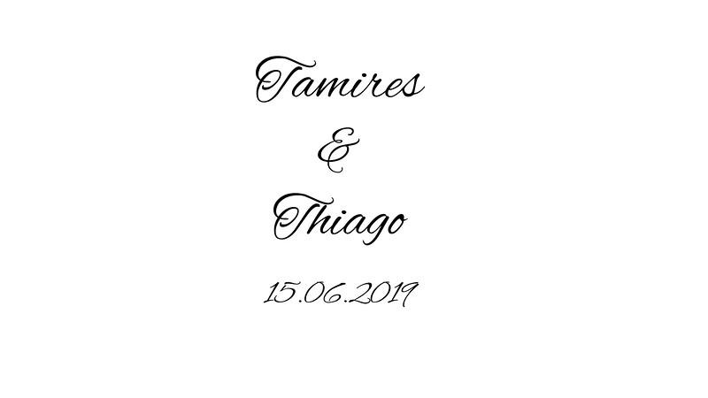 Tamires & Thiago 15.06.2019