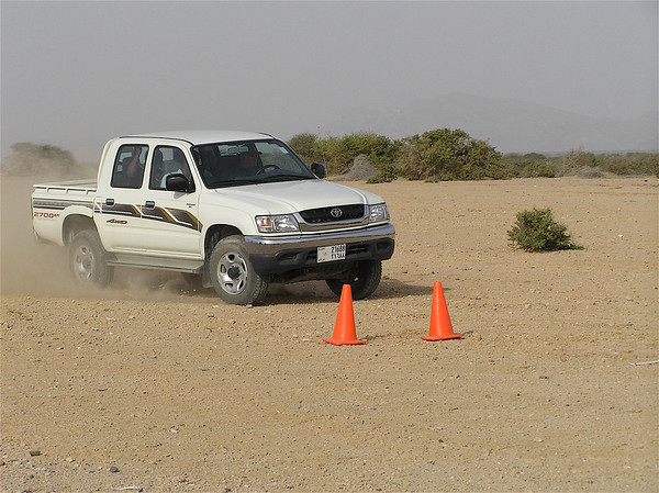 GEPDS 4WD OFF ROAD TRAINING PHOTOS