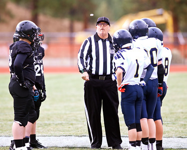 Outlaw Middle School Outlaw 7th/ 8th Football vs LaPine 10-17-2019
