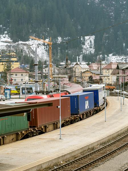 Freight Train, Bad Gastein Austria