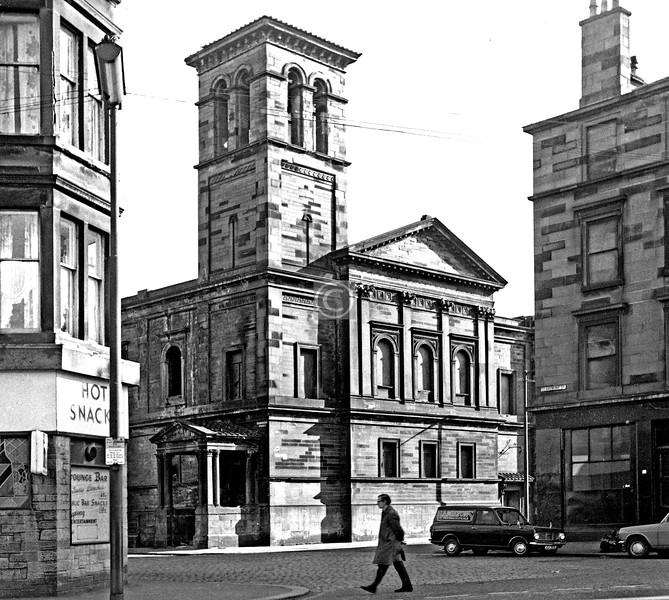 Argyle St. / Claremont St. / Dover St.   Wesleyan Methodist Church.  April 1975