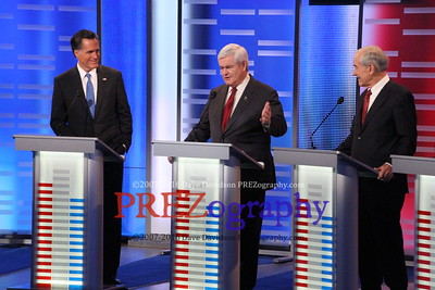 Newt Gingrich at Drake Debate