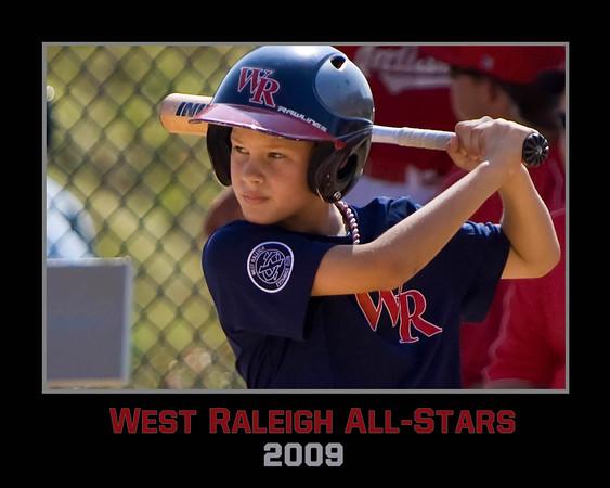 West Raleigh Baseball Extras 2009
