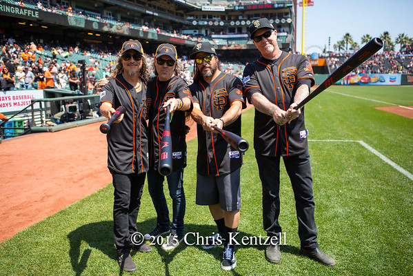 Metallica Day At&t Park 2015