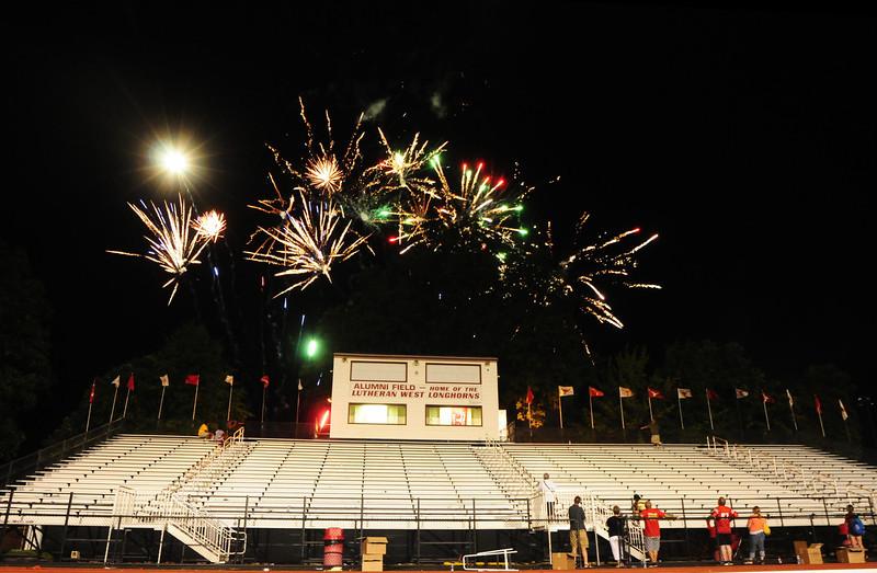 Lutheran-West-Fireworks-after-football-game-Unleash-the-Spirit-bash-2012-08-31-006.JPG