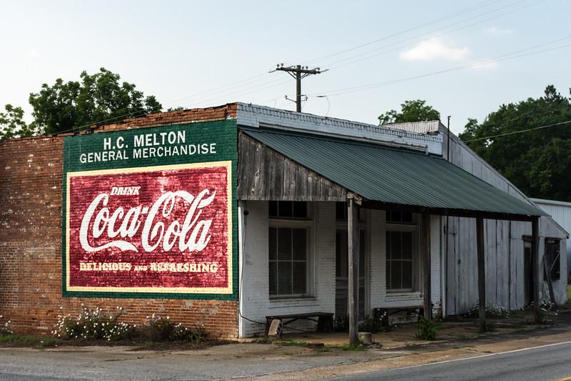 GA, Allentown - Coca-Cola Wall Sign 02