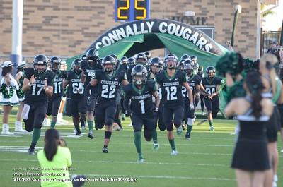 210902 Connally Cougars vs Regents Knights