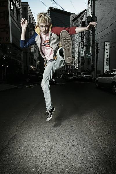 Dave MacLean The MacLean Brothers Alley - Hongdae, Seoul, South Korea