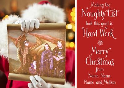 Melissa Costa Christmas Card 2017