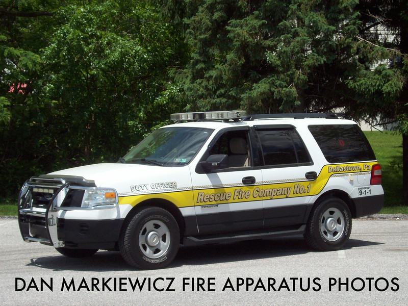RESCUE FIRE CO. DALLASTOWN CAR 35 2008 FORD OIC UNIT