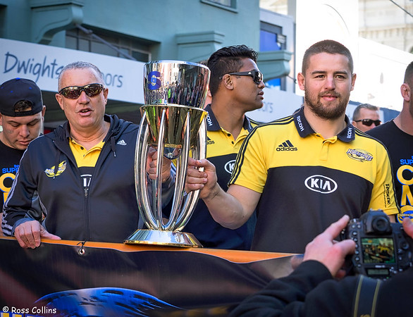 Hurricanes Super Rugby Parade 2016