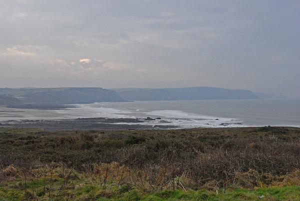 Trip to Cornwall for Steven Chopaks 50th - Saturday 31/01/09 - Trip to Bude