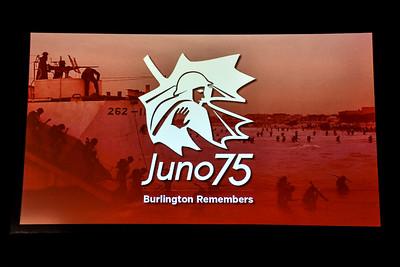 Juno 75 Burlington Remembers