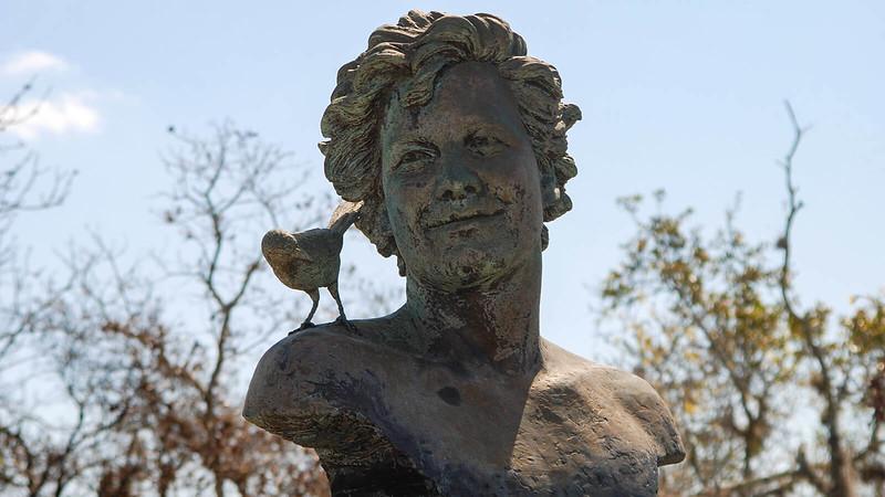 Allen David Broussard memorial statue