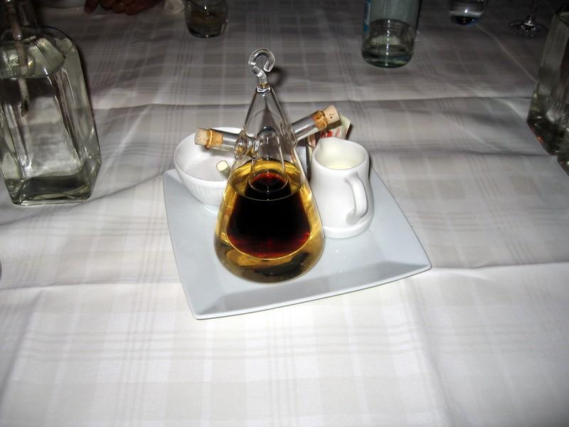 Coffee at Restaurant Sand in Hoek van Holland