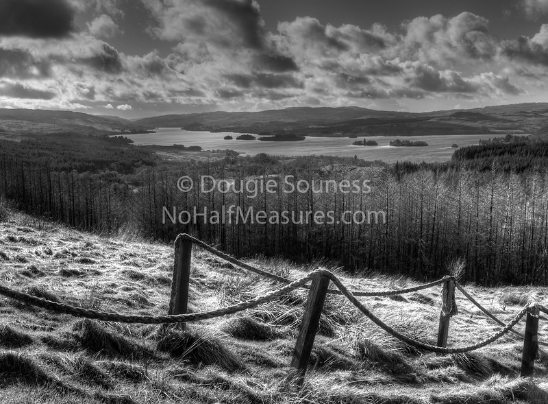'Loch Awe' - the view from Monument Hill, Dalmally, Argyll, Scotland