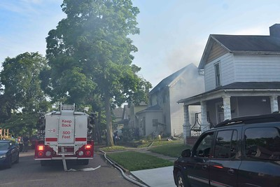06-07-18 Coshocton FD - House Fire Photos by Ian McKeever