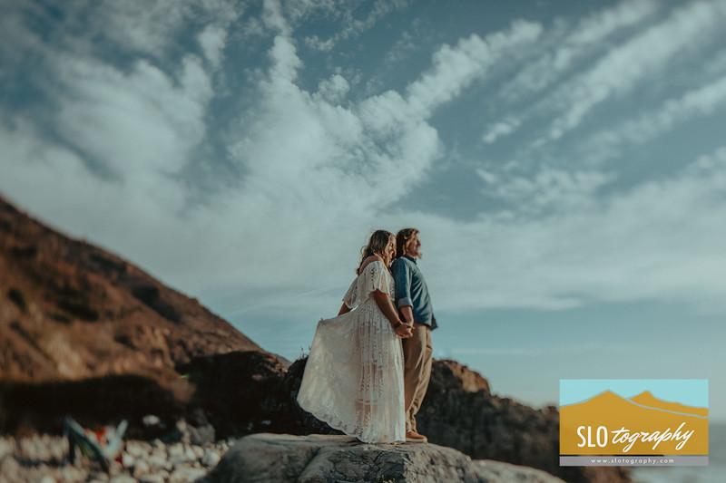 Kaelin+Alex ~ Big Sur Engagement