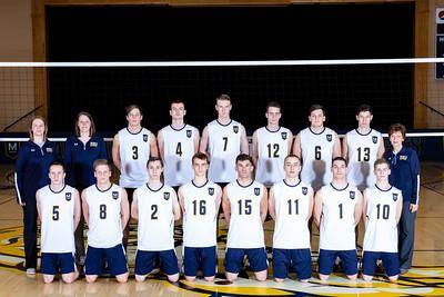 Men's Volleyball Team 2020
