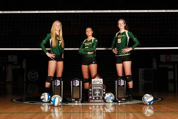 CSU Volleyball Headshots 2014