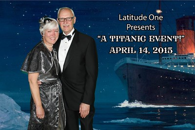 A Titanic Event photo booth rental April 2015