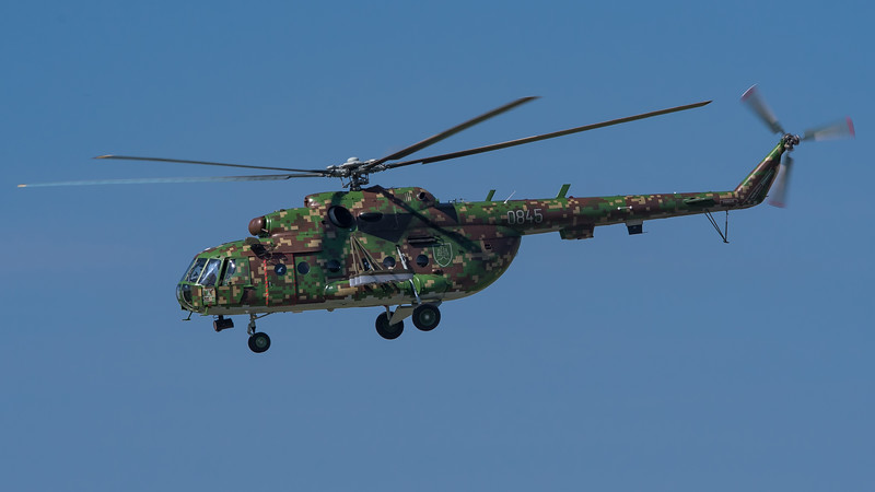 Slovak Air Force / Mil Mi-17 Hip / 0845 / Digital Splinter Camo Livery