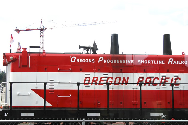 Portland Train Museum May 10 2014  on National Train Day