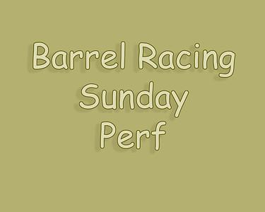WOS 2018 Barrel Racing Sunday Perf