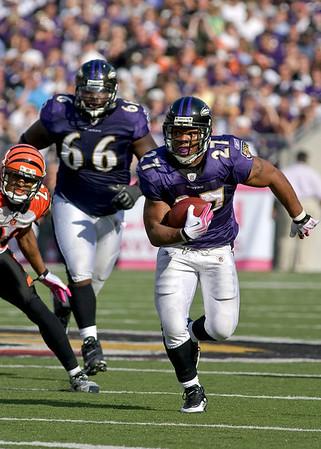 Ravens vs Bengals  10-11-09