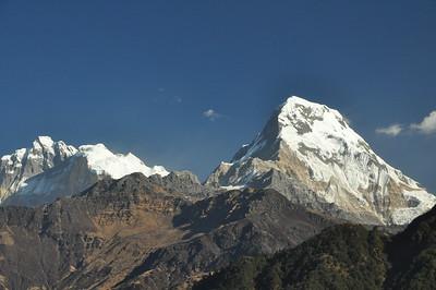 Nepal - P3.  Up into the Annapurna Sanctuary