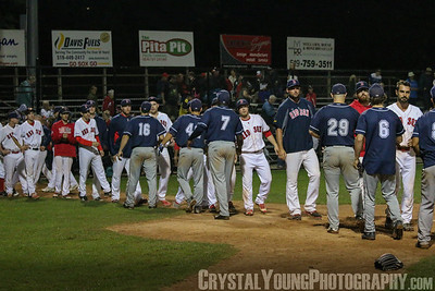 Playoffs: Baycats at Red Sox August 20