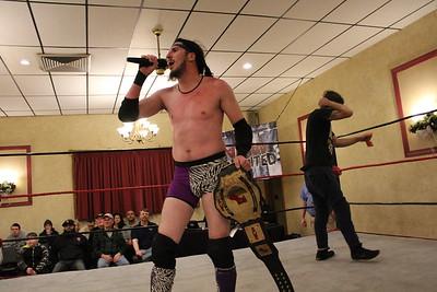 NCW New England Championship Mike Montero vs. Perry Von Vicious vs. Tomohawk