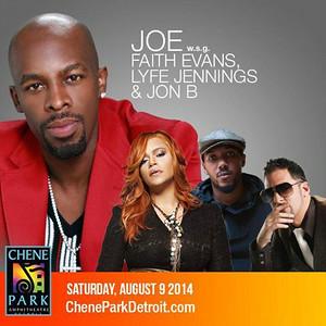Joe with special guest Faith Evans, Lyfe Jennings & Jon B