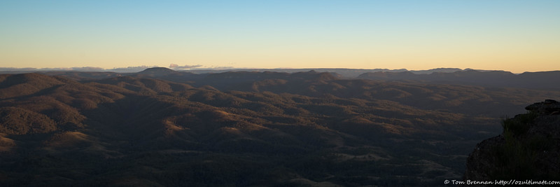 Early morning over Mt Colong and the Blue Breaks