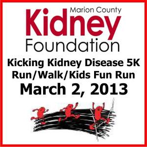 2013.03.02 Kicking Kidney Disease 5K