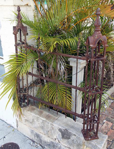 Some vintage ironwork in Key West