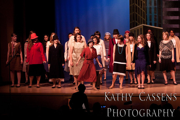 Thoroughly Modern Millie Sunday Acts 1 and 2