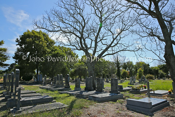 SOUTH AFRICA, Western Cape, George. Jewish Cemetery (York Street Cemetery) (3.2013)