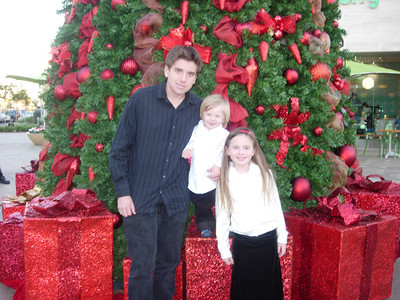 Holiday Pics with Katie, Maxwell & Jackson
