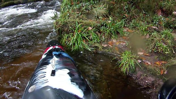 White Water Kayaking - River Dart 041113