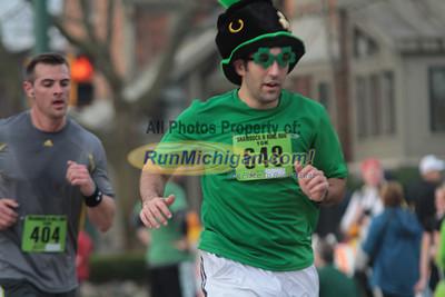 10K Finish 51:23 to 60:25 - 2012 Shamrock N Roll