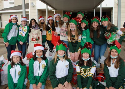 Jr High Cheer and Dance Christmas