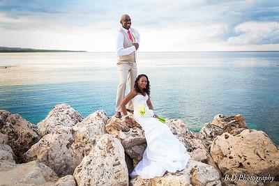 Tracey & Randy wedding Jamaica