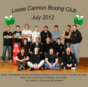Loose Cannon club shoot July 2012
