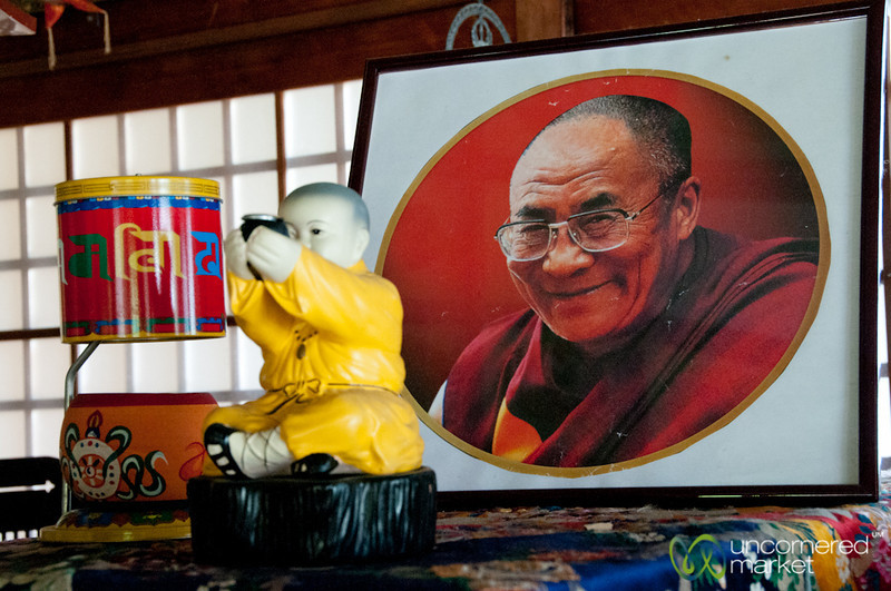 Dalai Lama Photo at Daisho-In Temple - Miyajima, Japan