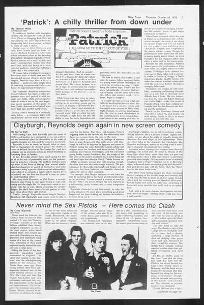 Daily Trojan, Vol. 87, No. 24, October 18, 1979