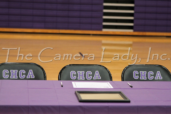 CHCA 2011 Athletic Signing and Team Recognition Day 11.09