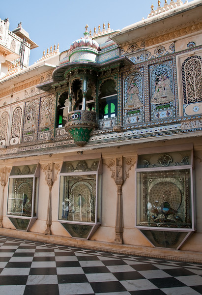 The Suraj Gokhada is the balcony from where the Ranas have daily been greeting their ancestor, the Sun god Surya at dawn. The balcony was also used when the Rana presented himself in times of trouble to restore the confidence of his subjects and to reassure them that the Surya was still smiling on them.