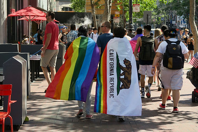 Pride Parade 2018  San Francisco